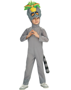 Costume de pingouin de Madagascar - King Julien