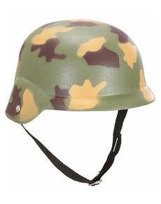Casque de guerre camouflage
