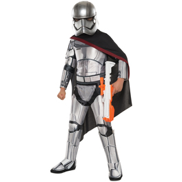 Costume Capitaine Phasma Star Wars Épisode  7 deluxe fille