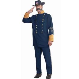 Déguisement officier de l'union homme grande taille
