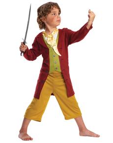 Costume Bilbo Bolson The Hobbit boîte enfant