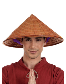 Chapeau chinois riz homme
