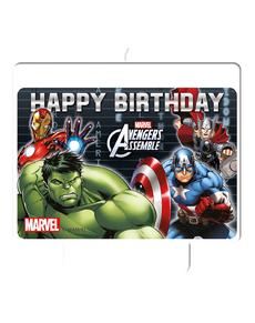 Bougie Happy Birthday Avengers Power