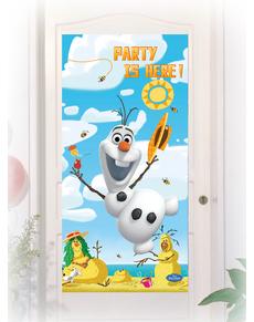 Affiche pour porte Olaf Summer