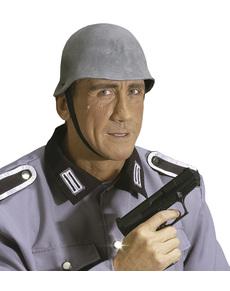 Casque soldat gris homme