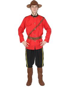 Déguisement police montée Canada homme
